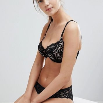 Tutti Rouge Rougette Sarah Underwired Fuller Bust Bra DD - GG Cup at asos.com