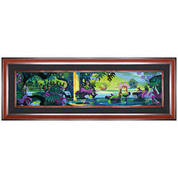 Limited Edition Disney Fine Art Pop! ''Magic Lagoon'' Peter Pan Giclée on Canvas | Disney Store