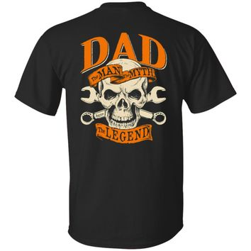 The Legend Dad - Skull Shirts Sweatshirt Hoodies