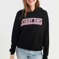 Project Social T Night Owl Hoodie Sweatshirt   Urban Outfitters