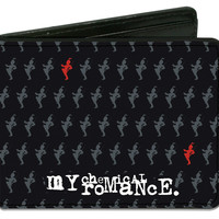 My Chemical Romance Men's Blade Parade Logo Bi-Fold Wallet