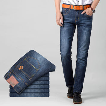 Summer Denim Pants Men Casual Jeans [6528671107]