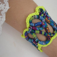 Bracelets, Cord bracelet, Tangle bracelet, Boho women jewelry, African Bracelets, Fabric bracelet, Ethnic bracelet, Teen girl jewelry,