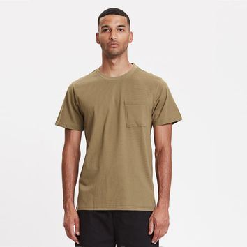 Legends Faro Pocket Tee in Olive