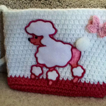 Poodle Crocheted Purse