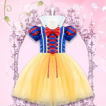 Fantasy Role Play Baby Girl dress Halloween Princess Costume infant dress for girls Cartoon Clothes Tutu dress kids clothing