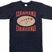 master fisherman-Unisex Navy T-Shirt