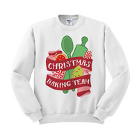 Christmas Baking Team Crewneck Sweatshirt
