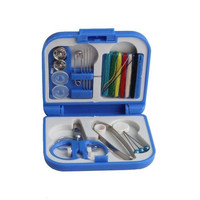 Portable Mini Travel PP Sewing Box With Color Sewing Kits Set DIY Home Tools = 1706137028