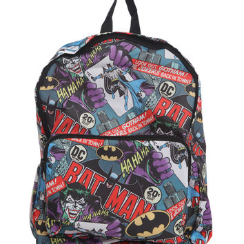 DC Comics Batman Joker Packable Backpack