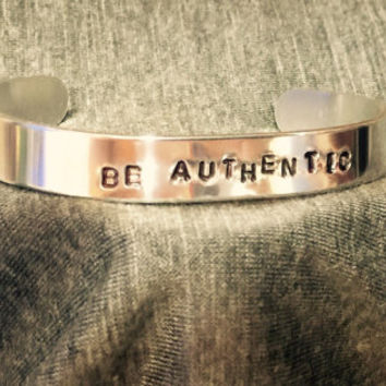 Be Authentic Cuff Bracelet