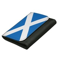 Scottish flag wallet
