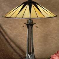 "0-003263>25""h Tiffany Gotham Table Lamp"