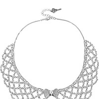 BetseyJohnson.com - CRYSTAL COLLAR NECKLACE CRYSTAL