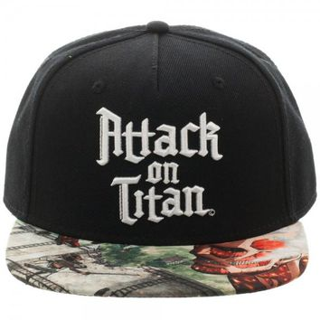 Attack On Titan Logo Hat