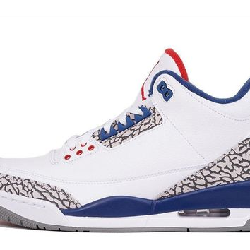 "AIR JORDAN 3 RETRO OG ""TRUE BLUE"" - (GS SIZE 4-7)"