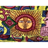 Large-sun-indian-tribal-wall-tapestry-mandala-throw-hippie-bohemian-bedspread