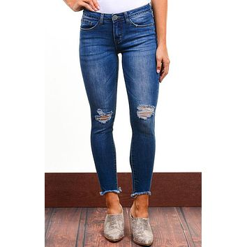 Madison Medium Wash Skinny Jeans