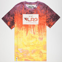 Lrg Roots People Mens T-Shirt Tangerine  In Sizes