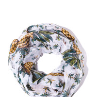 To The Tropics Pineapple Scarf