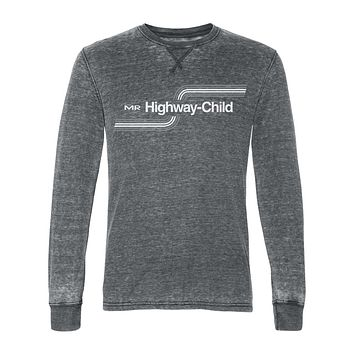 Highway Child Burnout Thermal Long-Sleeve Shirt