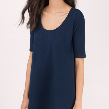 Heartbeat A-Line Mini Dress