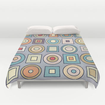 Patchwork II Duvet Cover by metron