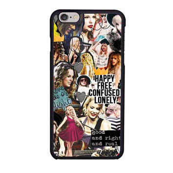 taylor swift happy iphone 6 6s 4 4s 5 5s 5c cases