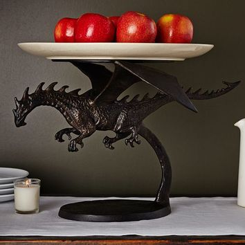 Pottery Barn Dragon Cake Stand