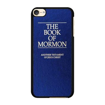 The Book Of Mormon Cover Book iPod Touch 6 Case