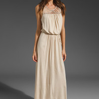 Akiko Detailed Maxi Dress in Stone from REVOLVEclothing.com