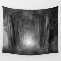 Black and White - Dreams come true Wall Tapestry by Viviana Gonzalez