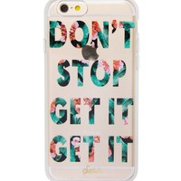 Sonix Don´t Stop Get It Get It Floral iPhone 6/6s Plus Case | Dillards