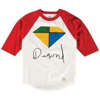 Diamond Supply Co Painted Raglan - Men's at CCS