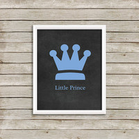 Little Prince - Wall Art, Print 8 x 10 INSTANT Digital Download Printable