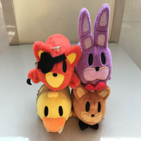 4 pcs/lot ToysBEST Plush doll 8cm Stuffed Toys Tsum GIFT for Birthday or Christmas