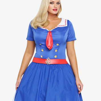 Leg Avenue - Sexy Sailor Costume Dress
