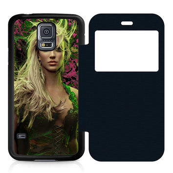 Young Britney Spears Flip Samsung Galaxy S5 Case