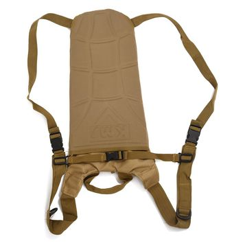 5Set Sale 3L Hydration System Water Bag Backpack Pouch Bladder Climbing Hikeing Survival Tan