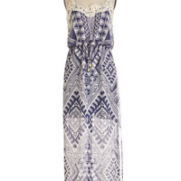 Boho Long Spaghetti Straps Maxi Future Looks Blithe Dress