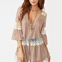 Ashbury Lace Top - Mocha