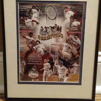 2004 Boston Red Sox World Series Champions Matted Framed Picture 4563/5000 LE