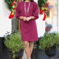 No Occasion Needed Dress in Wine | Monday Dress Boutique