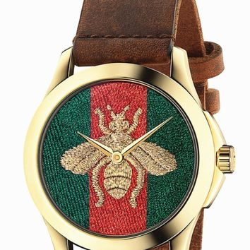One-nice™ Bailianyi: GUCCI Fashion Women Little Bee Ltaly Stylish Watch