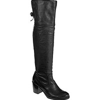 Frye Lucinda Slouch Over-the-Knee Boots - Black