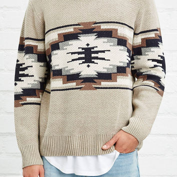 Southwestern Pattern Sweater