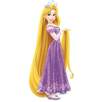 Disney Tangled Wall Accent Glamour Princess Giant Sticker