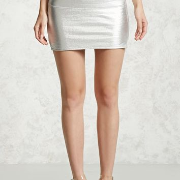 Foil Coated Metallic Skirt