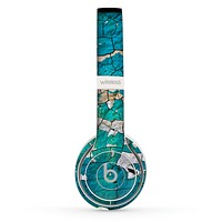 The Cracked Multicolored Paint Skin Set for the Beats by Dre Solo 2 Wireless Headphones