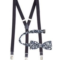 H&M Suspenders and Bow Tie $12.95